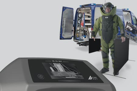 Computed Radiography EOD Scanner