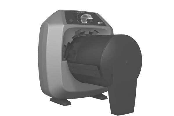 Computed radiography imaging plate scanner