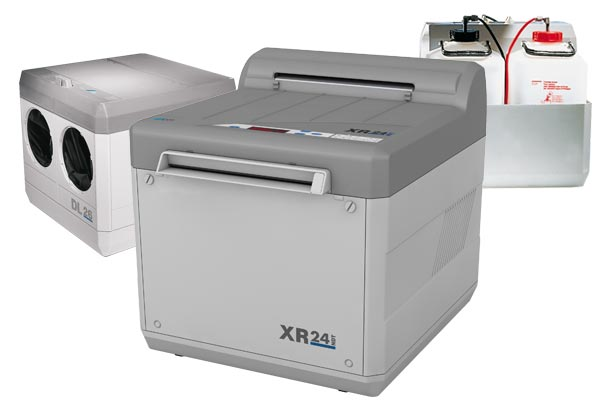 XR 24 NDT automatic X-ray film processor